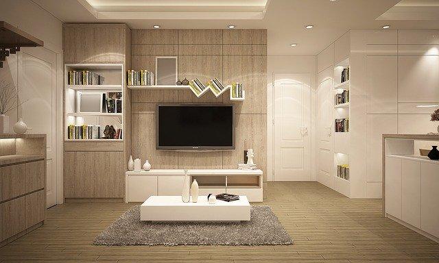 Biele obývacie steny sú neodmysliteľnou súčasťou tejto zrejme najobľúbenejšej miestnosti u nás doma